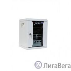 ЦМО Шкаф телекоммуникационный настенный 10″ 12U, (350х255) (ШРН-12.255-10) (1 коробка)
