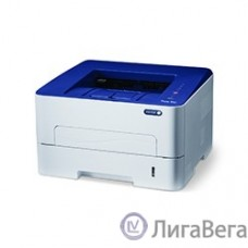 Xerox Phaser 3052V_NI {A4, Laser, 26 ppm, max 30K pages per month, 256 Mb, PCL 5e/6, PS3, USB, Eth, 250 sheets main tray, bypass 1 sheet,  } P3052NI#