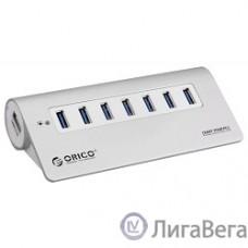 ORICO M3H7-SV USB-концентратор Orico M3H7 (серебряный)