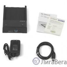 ORICO 6518US3-BK Док-станция для HDD ORICO 6518US3; 1-bay 3.5″ HDD horizontal design (черный)