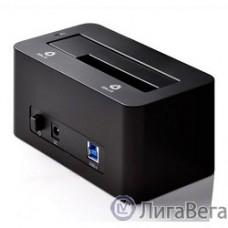 ORICO 6619US3-BK Док-станция для HDD ORICO 6619US3; 1-bay 3.5″/2.5″ HDD 4TB Max (черный)