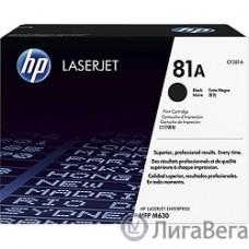 HP CF281A Картридж, Black {LJ ENTERPRISE MFP M630, (10500стр.)}