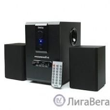 Dialog Progressive AP-150 Black {акустические колонки 2.1, 5W+2*2,5W RMS, USB+SD reader}