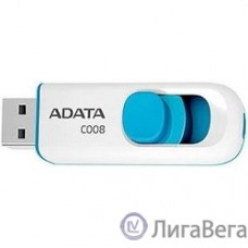 A-DATA Flash Drive 16Gb С008 AC008-16G-RWE {USB2.0, белый}