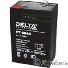 Delta DT 6045 (4.5 А\ч, 6В) свинцово- кислотный аккумулятор