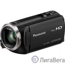 Видеокамера Panasonic HC-V260 черный {2.7″, 4224 x 2376, 2.2Mpx, 50x ZOOM, AVCHD Progressive, iFrame/MP4, SD, SDHC,SDXC}