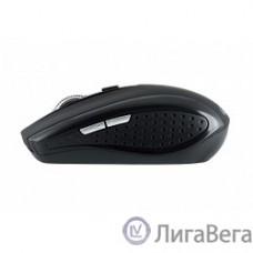 Oklick 455MW черный оптическая (1600dpi) беспроводная USB (6but) [945818]