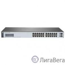 HP J9980A Коммутатор HPE 1820-24G управляемый 19U 24x10/100/1000BASE-T, + 2*SFP