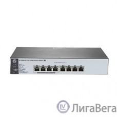 HP J9982A Коммутатор HPE 1820-8G-PoE+ управляемый 19U 8x10/100/1000BASE-T из них 4 PoE+, 65W