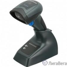 Datalogic QuickScan QBT2430 [QBT2430-BK-BTK1] Чёрный {Сканер ШК (2D имидж, bluetooth, черный)  зарядно/коммуникационная база, кабель USB}