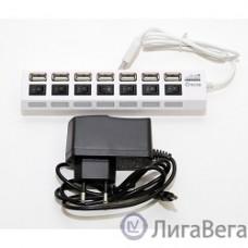 5bites HB27-203PWH Концентратор 7*USB2.0 / БП 5В-2А / 1M / WHITE