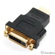 5bites DH1807G Переходник DVI (24+1) F / HDMI M, зол.разъемы
