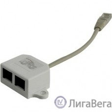5bites LY-SB26B-A Разветвитель (сплиттер)  1*RJ45 T568A/T568B -> 2*RJ45 10/100 BASE-T
