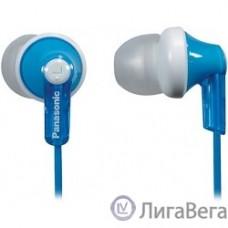 Panasonic RP-HJE 118 GUA вкладыши канальные, голубые