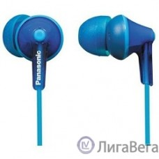Panasonic RP-HJE 125 E-A вкладыши канальные, синие