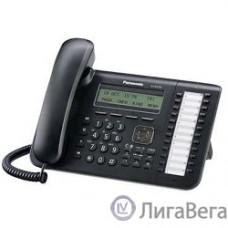 Panasonic KX-DT543RUB Цифр.тел.с диспл. 3 строки, 24 клавиши, порт XDP для KX-TDA/TDE/NCP/NS