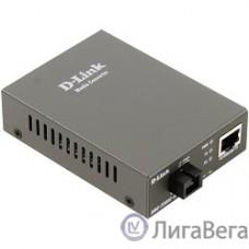 D-Link DMC-F20SC-BXU/A1A WDM медиаконвертер с 1 портом 10/100Base-TX и 1 портом 100Base-FX с разъемом SC (ТХ: 1310 нм; RX: 1550 нм) для одномодового оптического кабеля (до 20 км)
