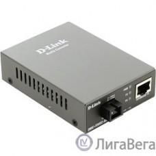 D-Link DMC-F20SC-BXD/A1A WDM медиаконвертер с 1 портом 10/100Base-TX и 1 портом 100Base-FX с разъемом SC (ТХ: 1550 нм; RX: 1310 нм ) для одномодового оптического кабеля (до 20 км)
