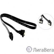 5bites SATA3-7PL50A(BK) Кабель  Serial ATA V3.0, 6Гбит/с, защелка, 0.50м