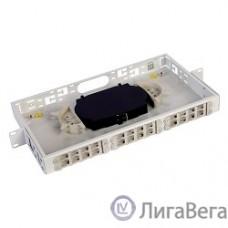 ЦМО Оптический бокс (кросс) 19″, 1U, до 24 портов (БОН-19-1-24)