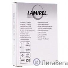 Lamirel Пленки для ламинирования LA-7866301 (75х105 мм, 125 мкм, 100 шт.)