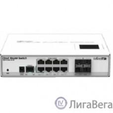 MikroTik CRS112-8G-4S-IN Коммутатор Cloud Router Switch управляемый 8 портов 10/100/1000Mbps