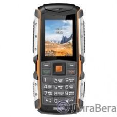 TEXET TM-513R мобильный телефон цвет черно-оранжевый