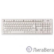 Клавиатура SVEN Standard 301 USB белая SV-03100301UW