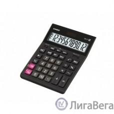 Калькулятор настольный CASIO GR-12(-W-EH) черный {Калькулятор 12-разрядный} [993127]
