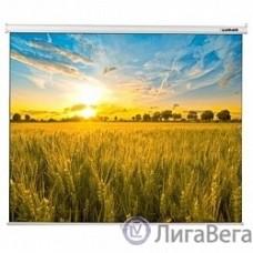 LUMIEN Eco Picture LEP-100105 Настенный экран 160х160 см, Matte White восьмигранный корпус, возможность потолочн./настенного крепления, уровень в комплекте, 1:1
