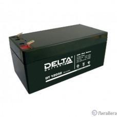 Delta DT 12032 (3.2 А\ч, 12В) свинцово- кислотный аккумулятор