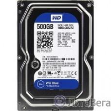 500Gb WD Blue (WD5000AZRZ) {Serial ATA III, 5400 rpm, 64Mb buffer}