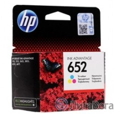 HP F6V24AE Картридж №652, Color {DJ IA 1115/2135/3635/4535/3835/4675 (200стр.)}
