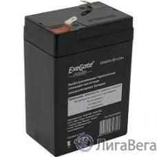 Exegate EP234535RUS АКБ ExeGate DT 6045/EXG645 (6V 4.5Ah), клеммы F1