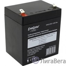 Exegate EP211732RUS Аккумуляторная батарея  Exegate EG5-12 / EXG1250, 12В 5Ач, клеммы F2 (универсальные)