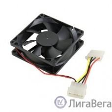 5bites F8025S-HDD Вентилятор 80 x 80 x 25мм, подшипник скольжения, 2000RPM, 23dB, 4 pin (питание от БП)