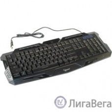Keyboard Gembird KB-G11L, Клавиатура игровая, 3 различные подсветки, 10 доп. клавиш