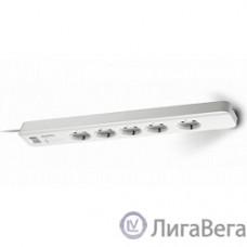 APC PM5-RS сетевой фильтр 1.8м, 5 розеток, белый