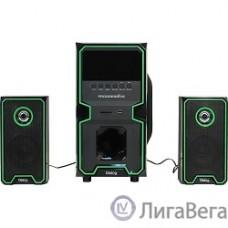 Dialog Progressive AP-222B BLACK - акустические колонки 2.1, 30W+2*10W RMS, Bluetooth, USB+SD reader
