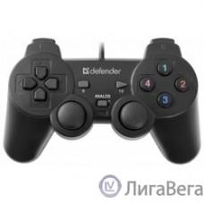 DEFENDER Omega USB, Проводной геймпад, 12 кнопок, 2 стика [64247]