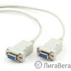 Bion Кабель нуль-модемный RS-232 DB9F/DB9F, 1.8м, белый [BXP-CC-134-6]