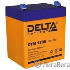 Delta DTM 1205  (5 А\ч, 12В) свинцово- кислотный аккумулятор