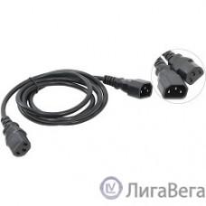 VCOM CE001-CU0.75-1.8 Кабель монитор - компьютер 220V (UPS -> устройство) VCOM  3G*0.75mm (CE001-CU)1.8м