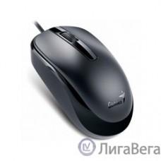 Genius DX-120 Black {мышь оптическая, 1000 dpi, 3 кнопки+колесо прокрутки, провод 1,5 м, USB} [31010105100]