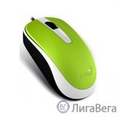 Genius DX-120 Green {мышь оптическая, 1000 dpi, 3 кнопки+колесо прокрутки, провод 1,5 м, USB} [31010105105]