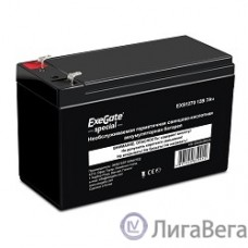 Exegate ES252436RUS Аккумуляторная батарея DT 1207/EXS1270 (12V 7Ah, клеммы F1)
