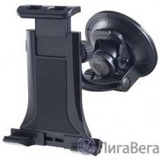 Perfeo PF_4224 Автодержатель для планшета/смартфона 4″- 10″/ на стекло/ трансформер/ черный