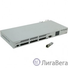MikroTik CCR1016-12S-1S+ Cloud Core Router 1016-12S-1S+ with Tilera Tile-Gx16 CPU (16-cores, 1.2Ghz per core), 2GB RAM, 12xSFP cages, 1xSFP+ cage, RouterOS L6, 1U rackmount case, Dual PSU, LCD panel
