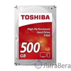 500Gb Toshiba (HDWD105UZSVA) P300 {SATA 3, 7200 rpm, 64Mb buffer, 3.5″}