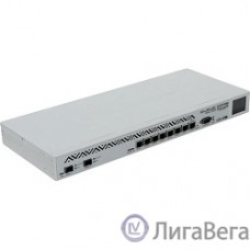 MikroTik CCR1036-8G-2S+ Cloud Core Router 1036-8G-2S+ with Tilera Tile-Gx36 CPU (36-cores, 1.2Ghz per core), 4GB RAM, 2xSFP+ cage, 8xGbit LAN, RouterOS L6, 1U rackmount case, PSU, LCD panel